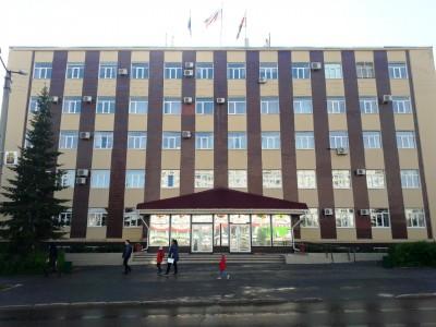 Здание администрации  г. Чернушка